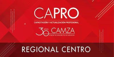 CAPRO - Ciclo de Actualización Profesional- REGIONAL CENTRO.