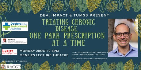 Treating chronic disease, one park prescription at a time by Dr Zarr tickets