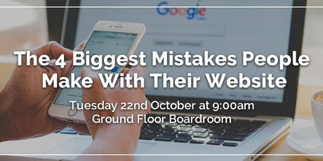 Rebixit Talks: The 4 Biggest Mistakes People Make With Their Website tickets