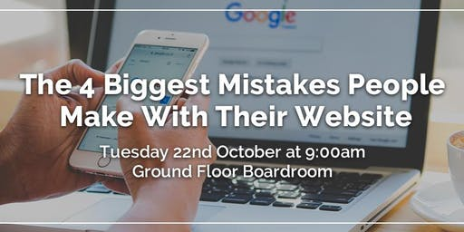 Rebixit Talks: The 4 Biggest Mistakes People Make With Their Website