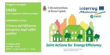 Il futuro dell'efficienza energetica degli edifici pubblici biglietti