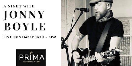 Jonny Boyle Live tickets