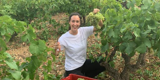 MontRubí wine tasting with Chiara Sorgente