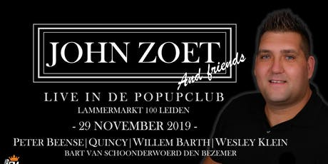 John Zoet tickets