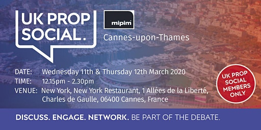 MIPIM Cannes-upon-Thames