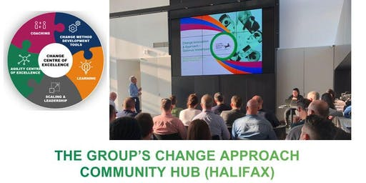 Group's Change Approach Community Hub Event - Halifax