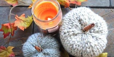 Halloween Scented Pumpkins & Wreaths