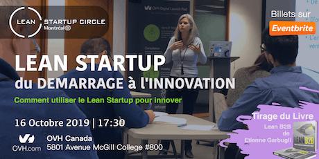 Lean Startup - Du démarrage à l'innovation tickets