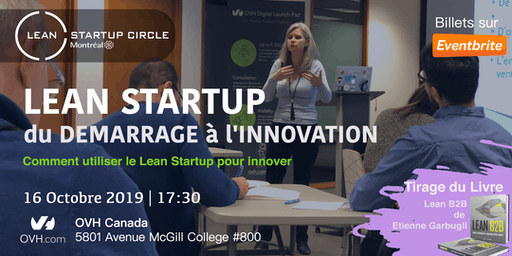 Lean Startup - Du démarrage à l'innovation