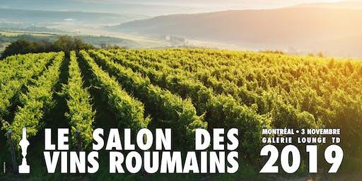 Le Salon des Vins Roumains - 3 Novembre 2019 Montréal