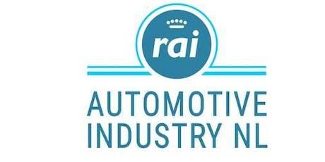 Informatiebijeenkomst fusie RAI AutomotiveNL en RAI Automotive Industry tickets