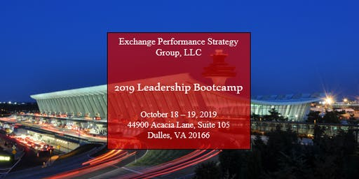 Exchange Performance Strategy Group, LLC: 2019 Leadership Conference