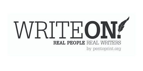 Pen to Print: Write On! Magazine Issue 3 - Workshop 2 tickets