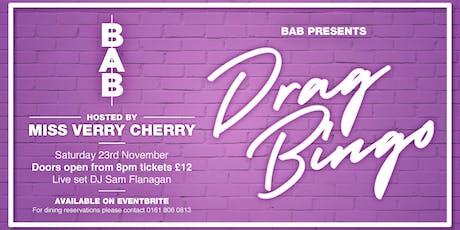 Bab Drag Bingo tickets