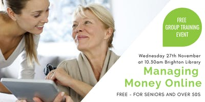 Be Connected Free Event:  Managing Money Online