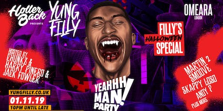 Yung Filly Presents- Halloween Special: Chunkz |Harry Pinero| Jack Fowler tickets