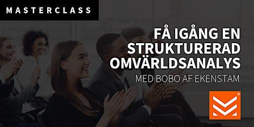 Masterclass: Få igång en strukturerad omvärldsanalys