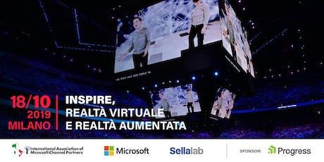 """IAMCP e Microsoft, """"Inspire, Realtà Virtuale e Realtà Aumentata"""" – 18 ottob biglietti"""
