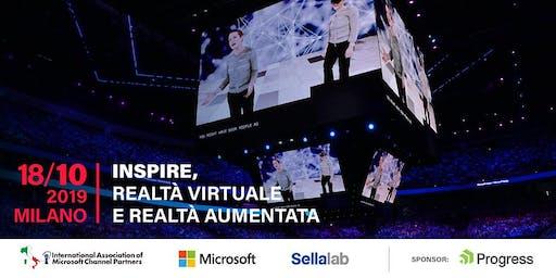 """IAMCP e Microsoft, """"Inspire, Realtà Virtuale e Realtà Aumentata"""" – 18 ottob"""