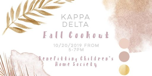 Kappa Delta Fall Cookout 2019
