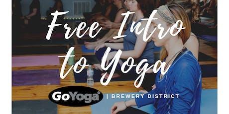 Free Intro to Yoga tickets