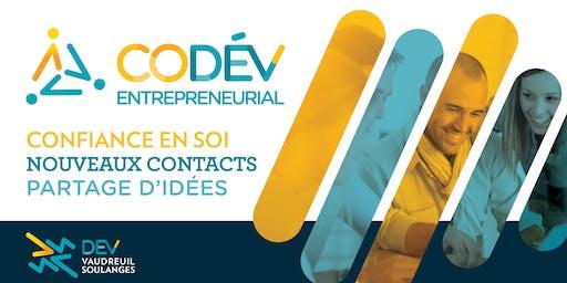 Dîner d'information pour cohorte CODEV Automne-Hiver