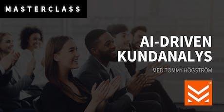 Masterclass: AI-driven kundanalys biljetter
