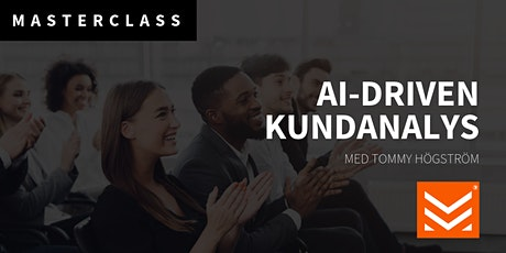 Masterclass: AI-driven kundanalys tickets