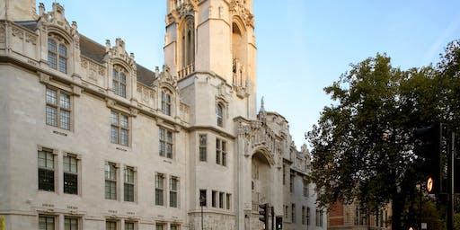 Evening Tour of the UK Supeme Court