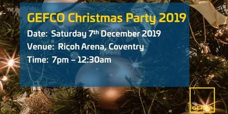 GEFCO UK Christmas Party 2019 tickets