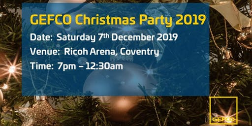 GEFCO UK Christmas Party 2019