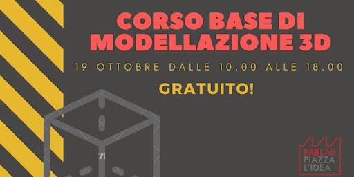 Corso base di modellazione 3D