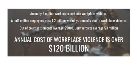 Are You Prepared? : Workplace Violence Prevention Session 1 tickets