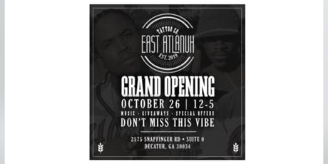 GRAND OPENING: East Atlanuh Tattoo Co.  tickets