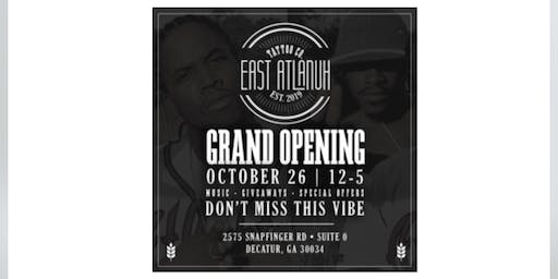 GRAND OPENING: East Atlanuh Tattoo Co.