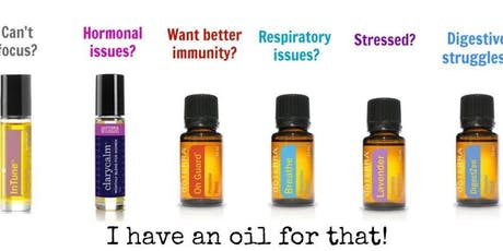 Essential oils one to one   tickets