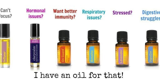 Essential oils one to one