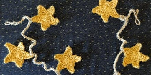 STAR BUNTING - CROCHET workshop: Forgan Arts Centre