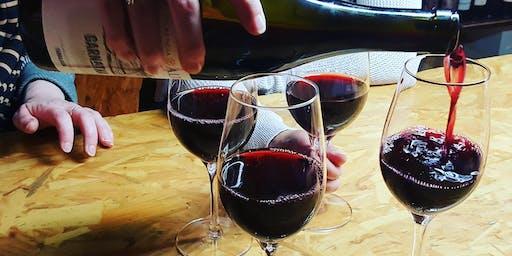 Classic Reds wine tasting