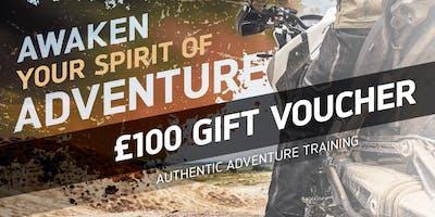 £100 Adventure Experience Gift Voucher