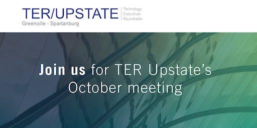 October TER Upstate Meeting