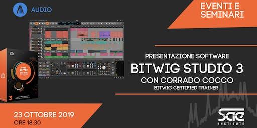 Presentazione software BITWIG Studio