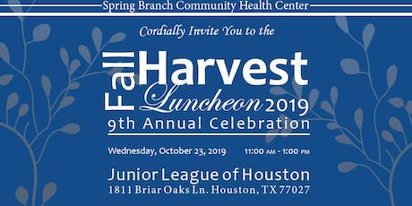 9th Annual Fall Harvest Luncheon tickets