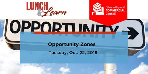 Commercial Council Lunch & Learn - Opportunity Zones