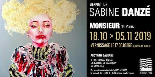 """Exposition Sabine Danzé """"Monsieur de Paris"""""""