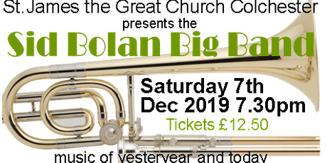 Sid Bolan Big Band Concert tickets