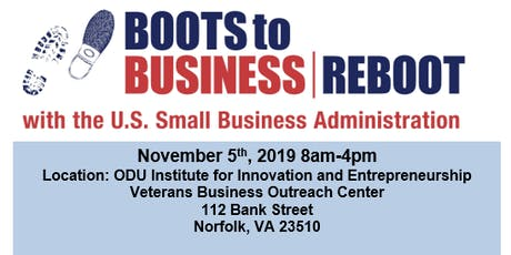Boots to Business Reboot - Old Dominion University tickets
