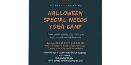 Halloween Sensory Yoga Camp for special needs tickets