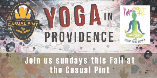 November Power Yoga at The Casual Pint Huntsville