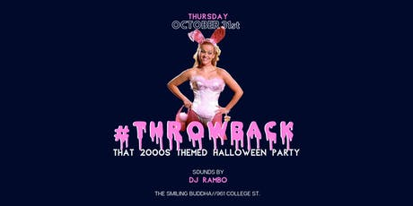 #THROWBACK - That 2000s Themed Halloween Party tickets